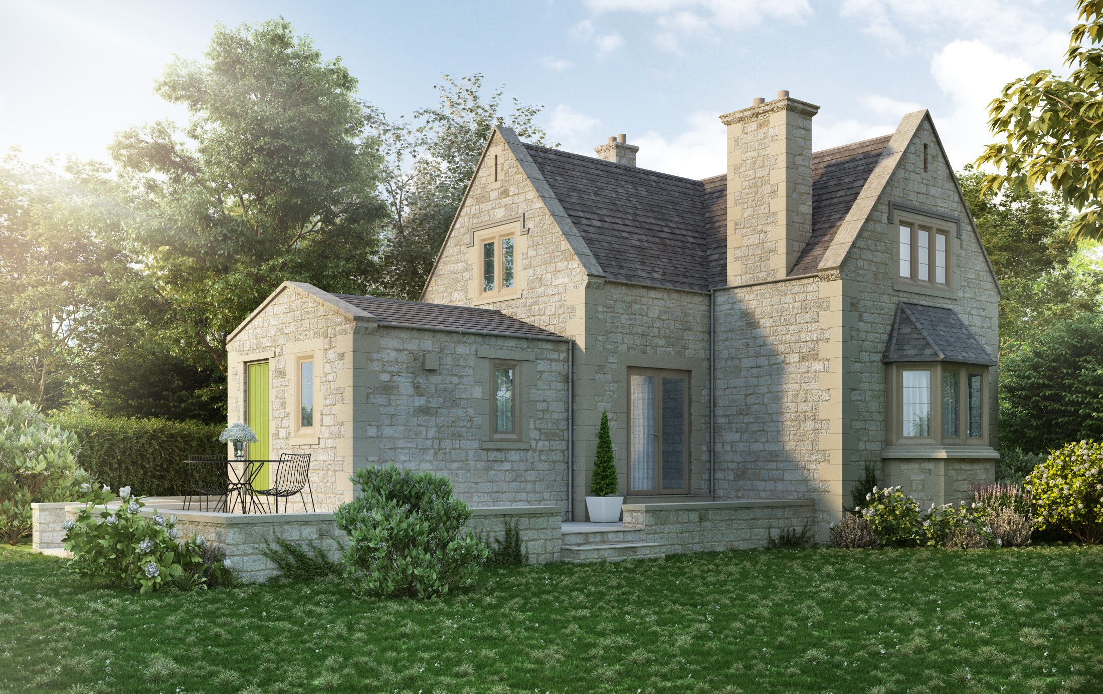 Extension to Historical Building, Cotswolds