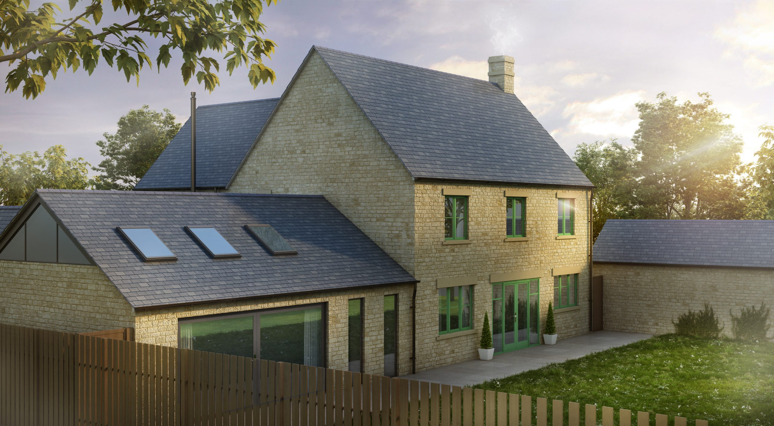 Extension to Detached Cotswolds Stone Home, Cotswolds