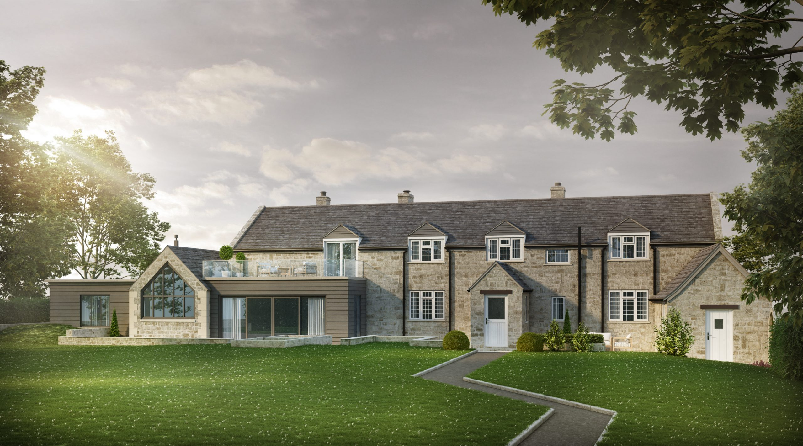Alterations and extensions to a detached Cotswolds stone home, Cotswolds