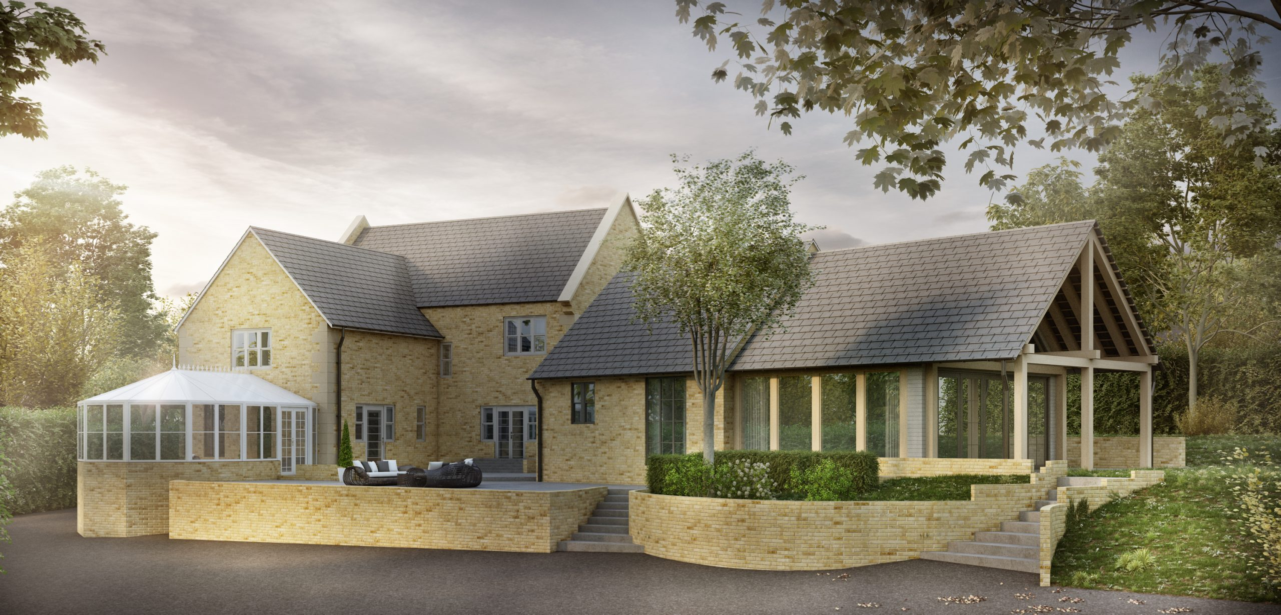 Garage Conversion and Extension, Cotswolds